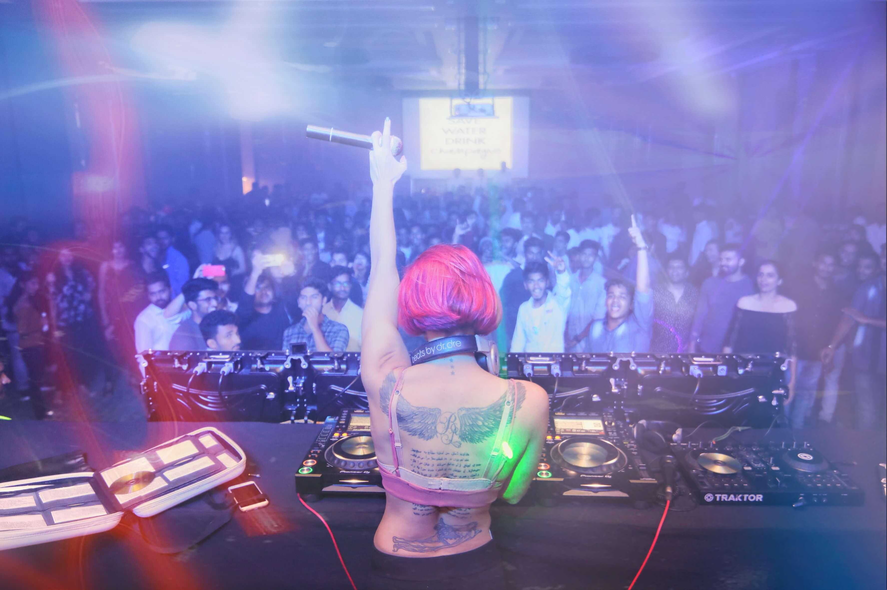 Italy's finest female DJ