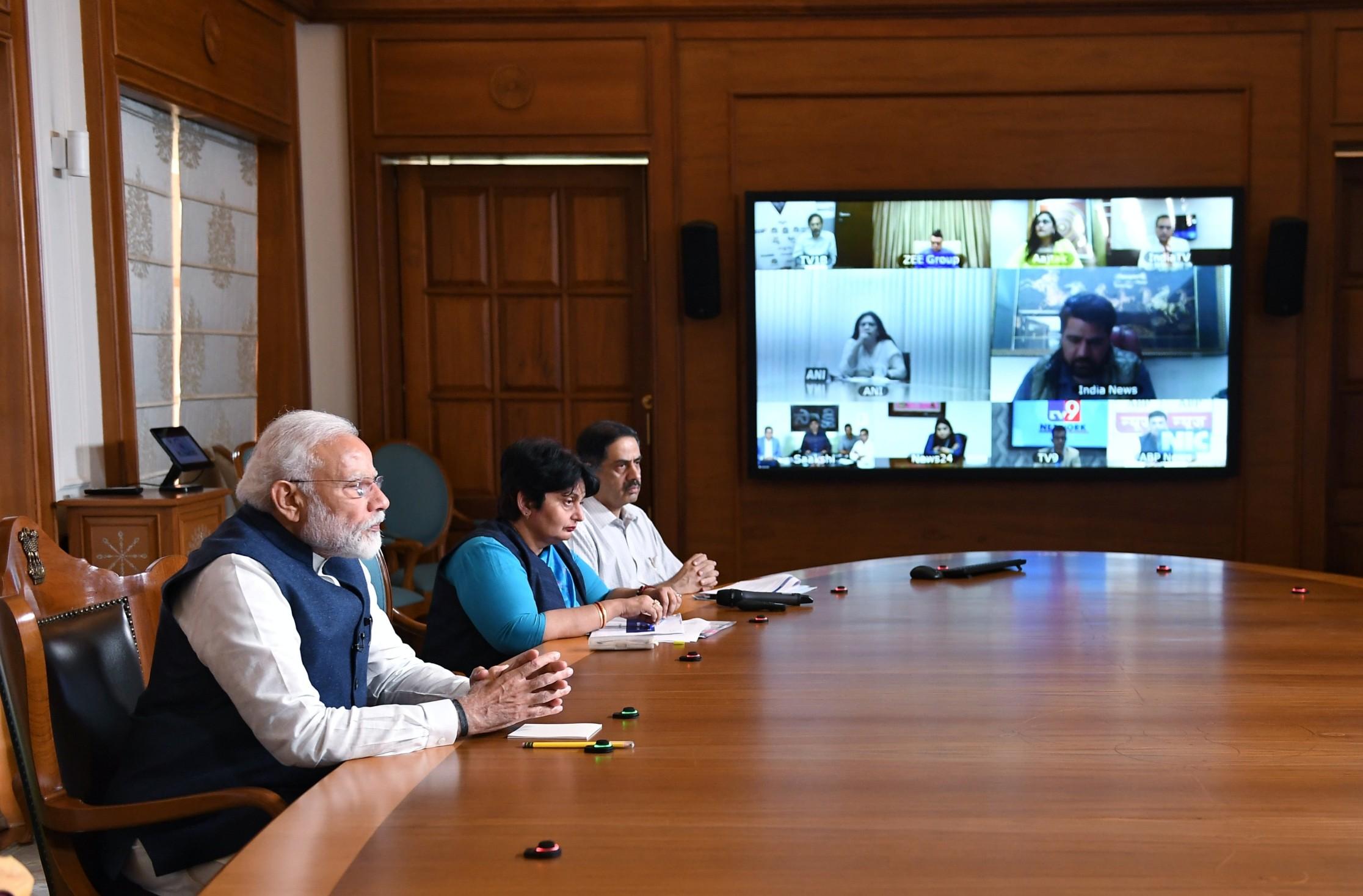 PM Modi during Covid times